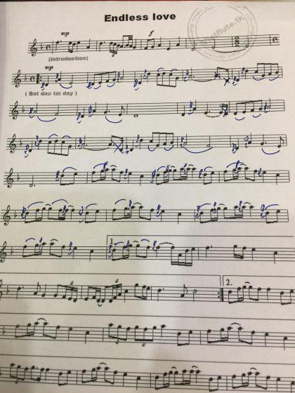 sheet nhạc thần thoại