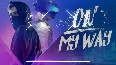 Cảm Âm ON MY WAY ( ALAN WALKER ) Beat Karaoke Sáo Trúc