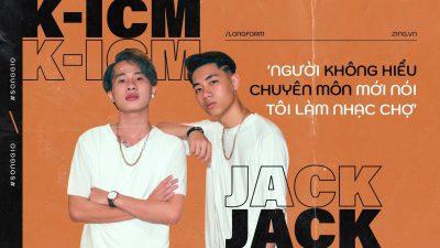 Cảm Âm Sóng Gió | Jack x K-icm | Beat Karaoke Sáo Trúc