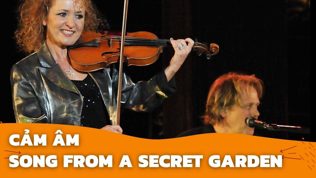 Cảm Âm Song From A Secret Garden   Sáo C5   Sáo Trúc Hoàng Anh Chuẩn Nhất