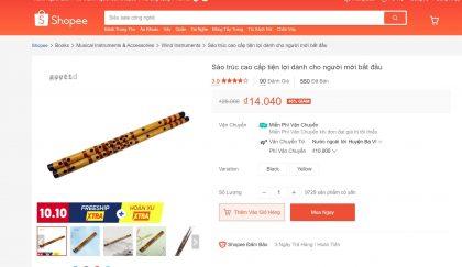 mua sáo trúc giá rẻ